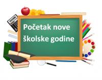 Obavijest o organizaciji nastave u školskoj godini 2020./2021. u uvjetima epidemije Covid19