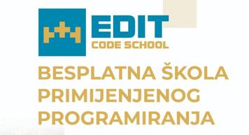 Započele prijave za EDIT CodeSchool 2021/2022